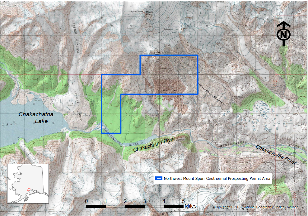 Northwest Mount Spurr Noncompetitive Geothermal Prospecting Permit Preliminary Written Finding of the Director