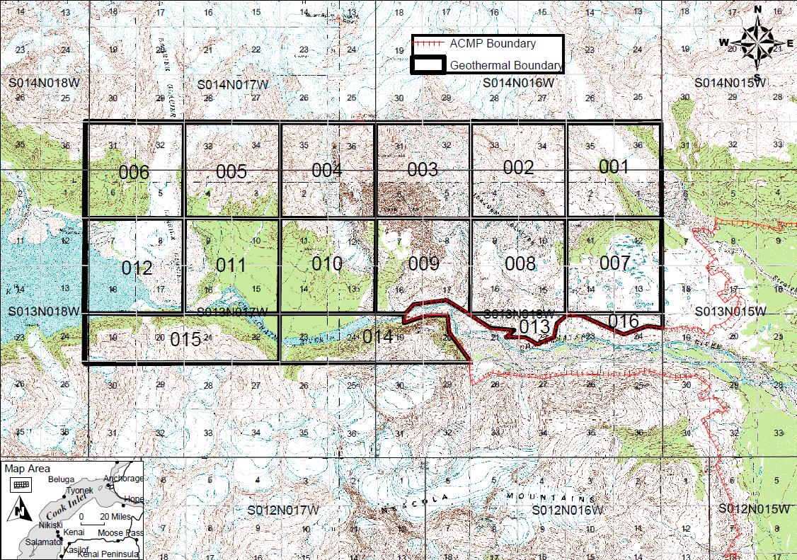 Mt. Spurr Geothermal Lease Sale Final Findings